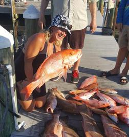 red snapper charters